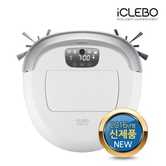[유진로봇] 아이클레보 오메가 화이트 로봇청소기 YCR-M07-20