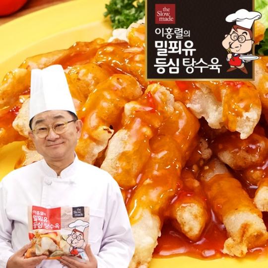 이홍렬의 밀푀유 등심 탕수육 250g 10봉 / 매콤소스 5봉, 새콤소스 5봉 증정