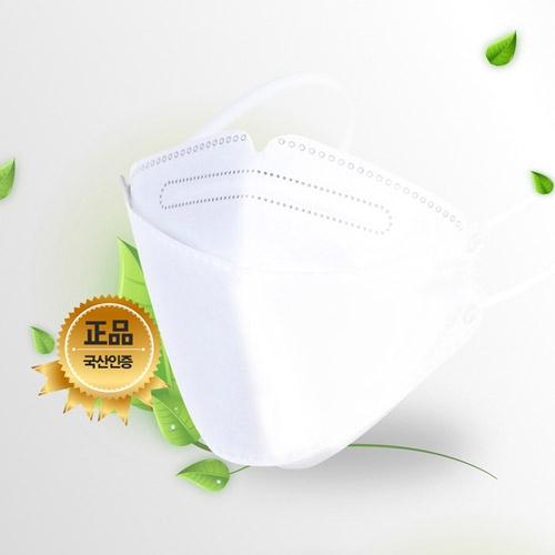 [더블프리웨이] 식약처허가 KF94 황사방역마스크(성인용) X 10매
