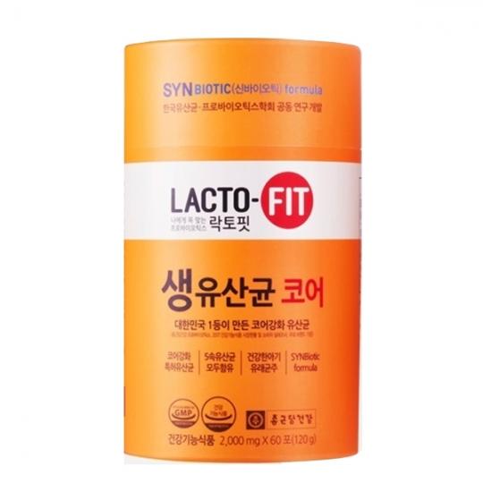 종근당건강 락토핏 생유산균 코어 60포