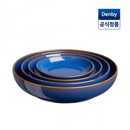 [DENBY] 덴비 임페리얼 블루 네스팅볼 세트 4P